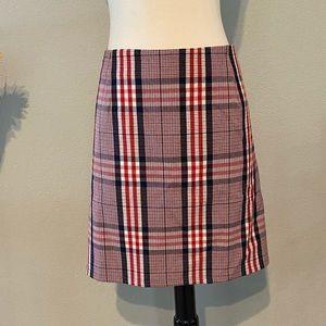 Retro Girl Plaid Skirt Sz 3X